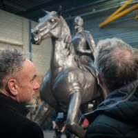 Presentatie Ruiterstandbeeld Philips de Montmorency